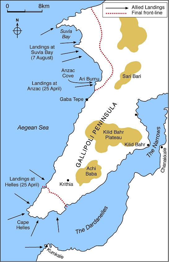 Gallipoli-landings-map